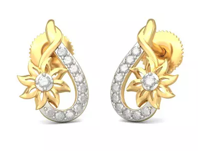 b03e78176 Diamond Earrings | Bluestone Jewellery And Lifestyle Pvt Ltd ...