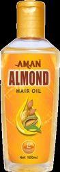 Aman Almond Hair Oil - 100 ml