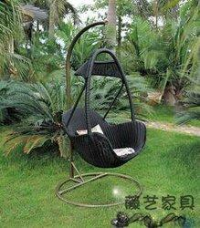 Wicker Outdoor Swing