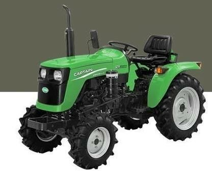 captain tractors pvt ltd red and green and blue mini tractor 200di