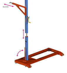 Height Measuring Stand