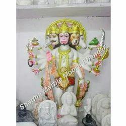 Religious Panchmukhi Hanuman Sculpture