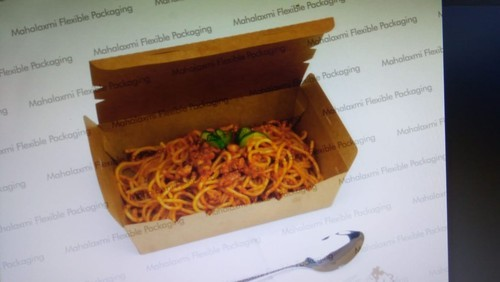 Mahalaxmi Brown Noodle box, Size: Many, Packaging Type: Fast Food