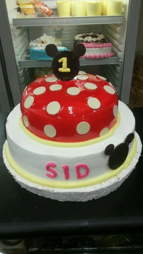 Mickey Mouse Cake Birthday Cake Cathy Confectioners Patna ID