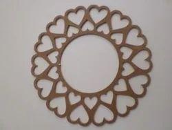 Brown Decorative Mirror Frame