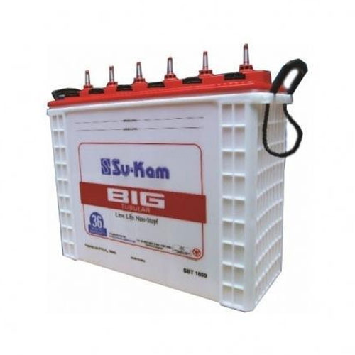 Su Kam Sukam Big Tubular Battery For Inverter Rs 12000