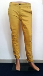 Men's Cotton Flat Trousers, Size: 32-38