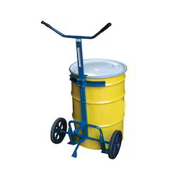Two Wheeled Drum and Barrel Truck