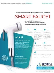 White And Ivory Superflo Health Faucet