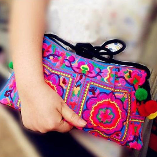 Stylish Embroidery Hand Bag At Rs 260 Piece Embroidered Handbags