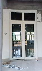 Casement Toughened Glass French Door Of UPVC, 5 Mm To 22 Mm