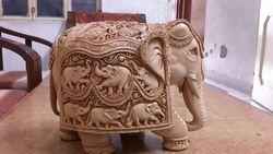 Wooden Carveen Elephant