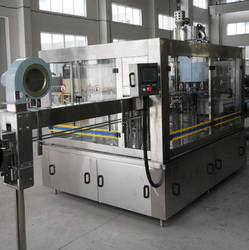 Automatic Bottle Rinsing Filling Capping Machine