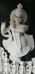 Smiling Shree Krishna Marble Sculpture