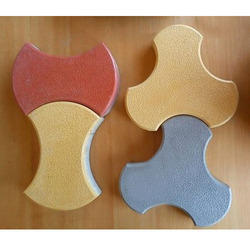 Royal Tiles Outdoor Interlocking Concrete Pavers, For Pavement, Thickness: 60mm