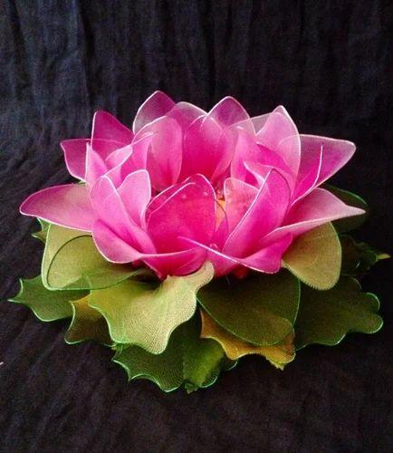 Artificial lotus flowers with led light sharda gallery delhi id artificial lotus flowers with led light mightylinksfo