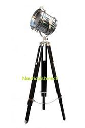Nautical Vintage Marine Search Light Sea Light - Floor Lamp