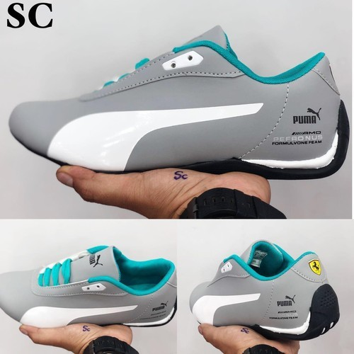 Gray Andblack Men Puma Ferrari Shoes f02f0214d481