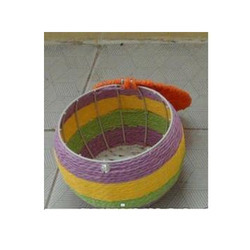 Round Paper Rope Basket