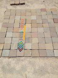 Cobbles Mixed Color Sandstones