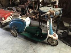 Rustic Scooter Toy