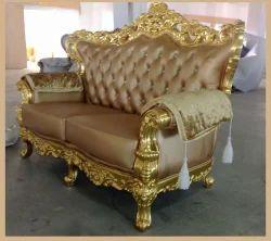 24 Carat Gold Sofa
