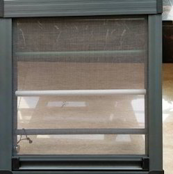 Impex Steel Window Grill With Sliding Mesh