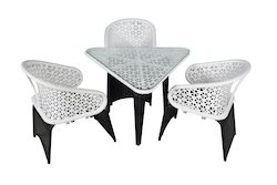 Tri Style Outdoor Wicker Coffee Set