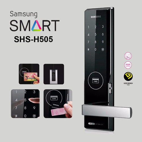 Samsung Digital Door Lock SHS-H505 RFID Password Door Lock & Samsung Digital Door Lock Shs-h505 Rfid Password Door Lock at Rs ...