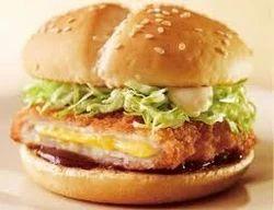Frozen Chicken Cheese Burger Patty