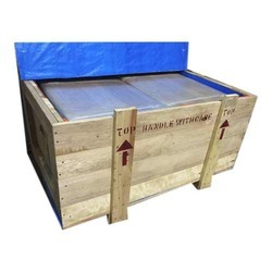 Pine wood Wooden Packaging Box, Weight Holding Capacity(Kg): 301-1000 Kg