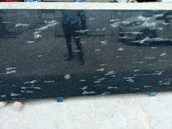 Polished Fish Black Granite