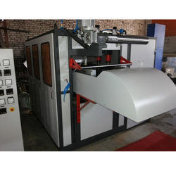 Disposable Silver Paper Plates Making Machine