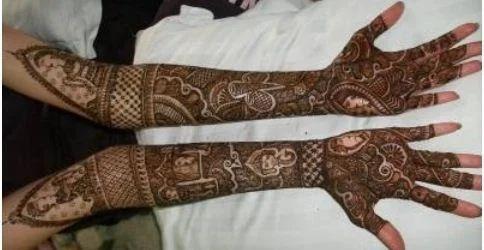 Mehndi Designs For Dulha : Service provider of bridal mehendi latest dulhan mehndi design