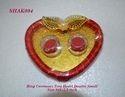 Ring Ceremony Tray Heart Double Small