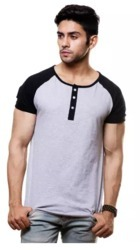 Raglan Contrast Sleeve  T-Shirt