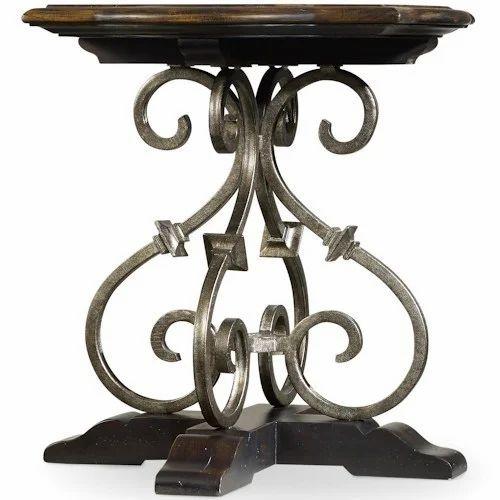 Iron Corner Table