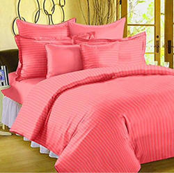 Peach Pure Cotton Bed Sheets