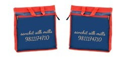 Blue Jewelery Printed Bags