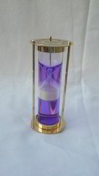 Liquid filled Sand Clock Vintage Hourglass Sand Timer