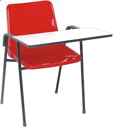 Institutional Furnitures Writing Pad Chair Manufacturer