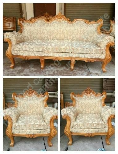 New Carving Teakwood Sofa Set Rs 72000 Set Mbk Wood Carving Works