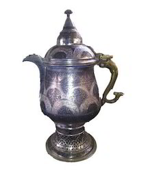 Carved Copper Samovar
