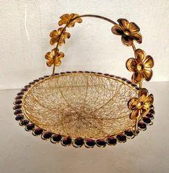 Metal Gifting Basket