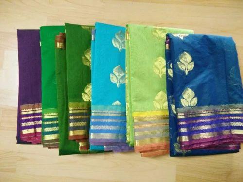 c699b32039b802 Kora Cotton Multicolor Kora Silk Cotton Sarees