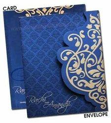Multicolour Book Style & Tri-Fold Insert Wedding Cards