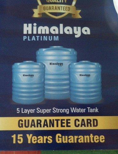Blue Plastic Himalaya Tank Capacity Litre 1000 Rs 4400 Litre Id 19061334997