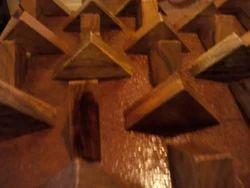 Teak Wood 3D Wall Panel 005