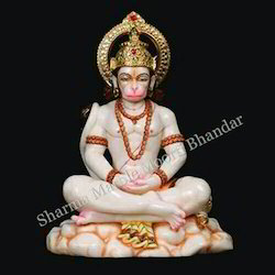Hanuman God Marble Sculpture