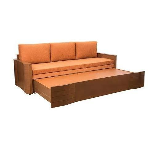 Wooden Sofa Come Bed